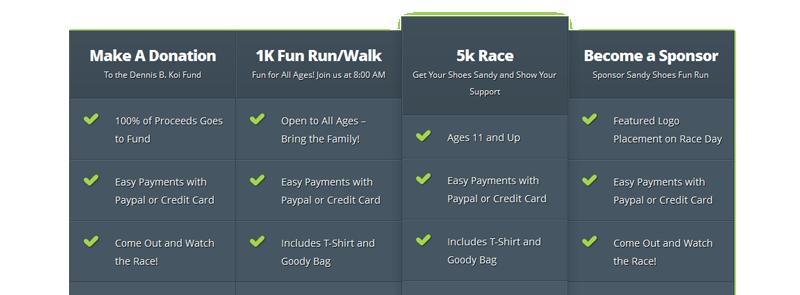 Donate, Race, or Sponsor